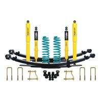 Комплект подвески Dobinsons для Nissan Navara D40 нагрузка 250+ кг лифт 40-50 мм