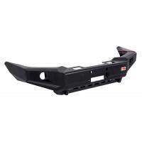 Бампер силовой передний РИФ для Toyota Land Cruiser Prado 120 c доп. фарами и защитой бачка омывателя