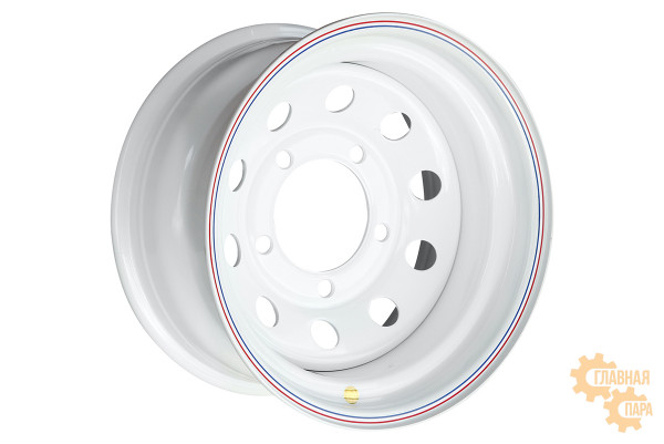 Диск усиленный Ленд Ровер стальной белый 5x165.1 8xR16 d125 ET-24