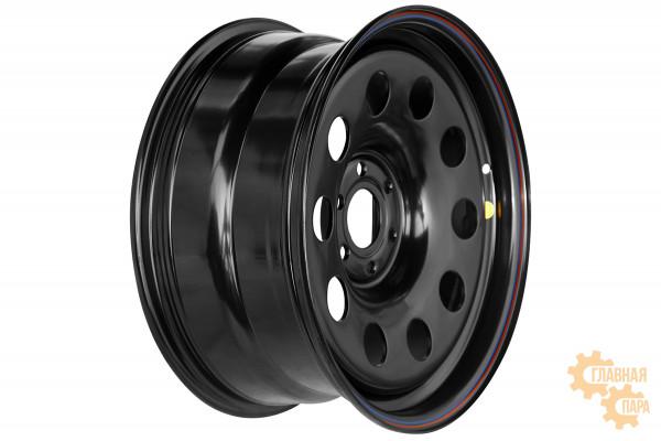 Диск усиленный Ниссан Навара D40 3.0TD стальной черный 6x114,3 8xR17 d66 ET+25