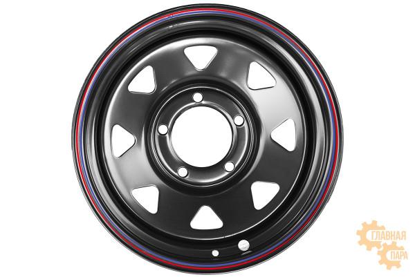 Диск усиленный Тойота Ленд Крузер 100/105 стальной черный 5x150 9xR17 d113 ET0 (треугольник мелкий)