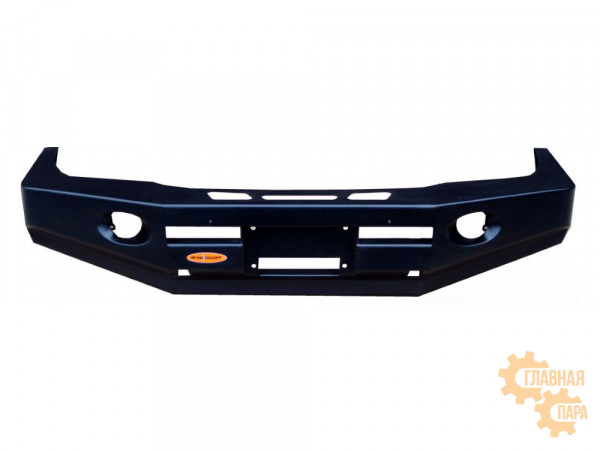 Бампер передний силовой Вездеходофф для Mitsubishi Pajero 2 с площадкой под лебедку
