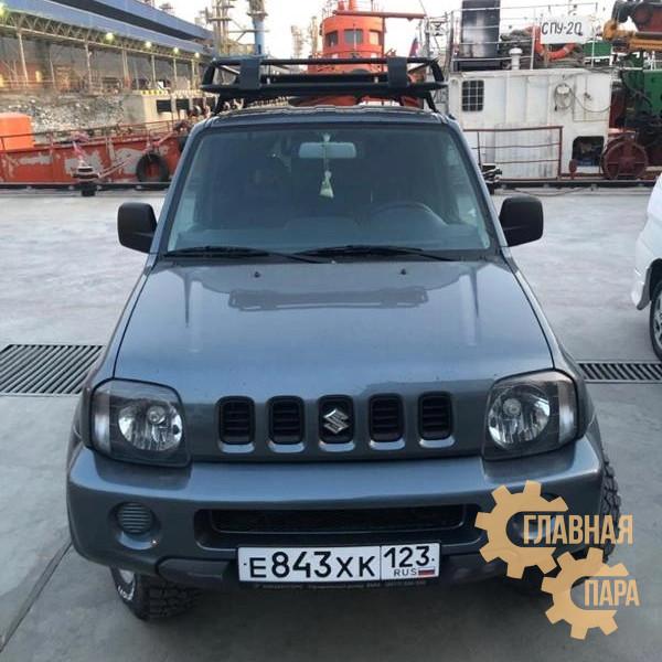 Багажник экспедиционный ЕВРОДЕТАЛЬ для Suzuki Jimny до 2019 с сеткой