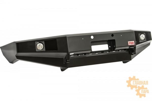 Бампер силовой передний РИФ для MAZDA BT50 (2006-2011) с доп. фарами без защитной дуги