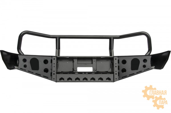 Бампер силовой передний РИФ для Toyota Land Cruiser 105 с защитной дугой