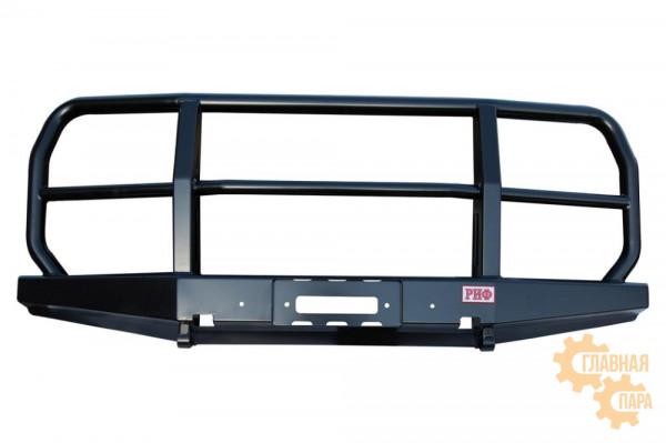 Бампер силовой передний РИФ для УАЗ Буханка усиленный с защитной дугой