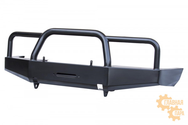 Бампер силовой передний РИФ для УАЗ Симбир 3160/62 с защитной дугой стандарт