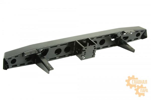 Бампер силовой задний РИФ для УАЗ Хантер с квадратом под фаркоп и фонарями стандарт