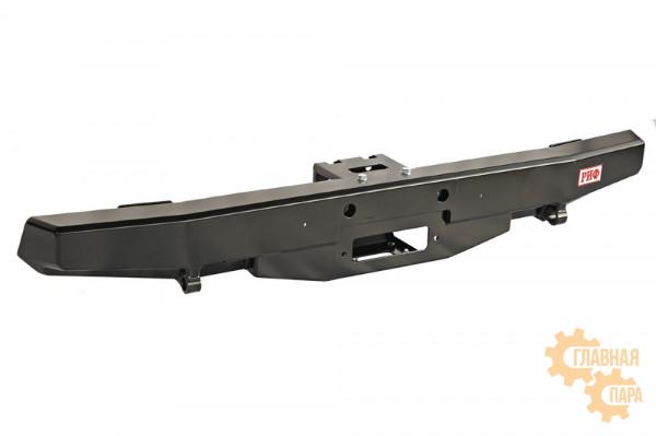 Бампер силовой задний РИФ для УАЗ Хантер с площадкой под лебёдку стандарт