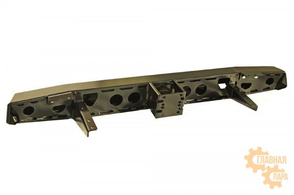 Бампер силовой задний РИФ для УАЗ Хантер с квадратом под фаркоп стандарт