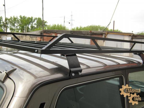 Багажник УНИКАР разборный для ВАЗ 2121 Нива