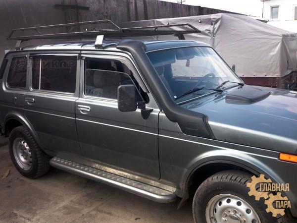 Багажник УНИКАР разборный для ВАЗ 2131 Нива