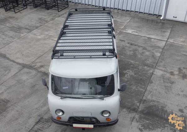 Багажник экспедиционный УНИКАР для УАЗ Буханка (1600х1600х130мм 2 шт)