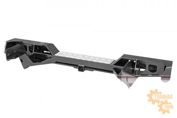 Бампер силовой задний РИФ для Toyota Hilux 1983-1997 с квадратом под фаркоп