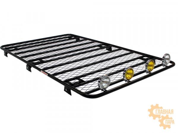 Багажник платформа сварная с сеткой для УАЗ 3163 Патриот