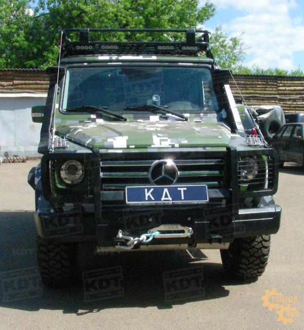 Багажник экспедиционный алюминиевый KDT для Mercedes-Benz G-класс