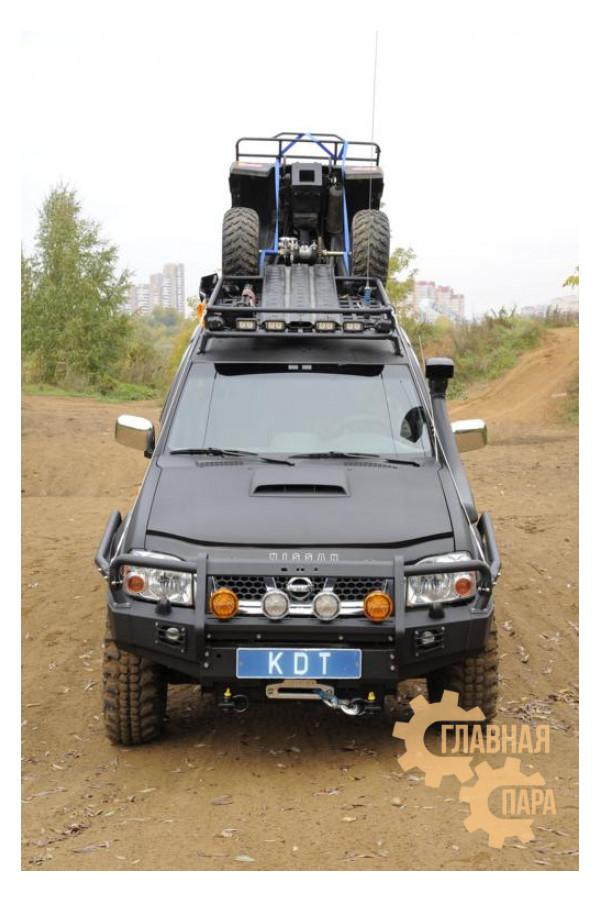 Багажник экспедиционный алюминиевый KDT для Nissan NP-300
