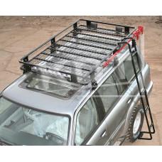 Багажник экспедиционный алюминиевый KDT для Nissan Patrol (6 опор)