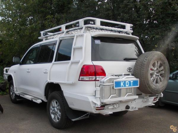 Багажник экспедиционный алюминиевый KDT для Toyota Land Cruiser 200