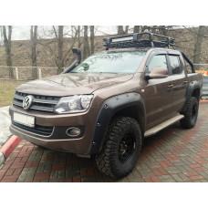 Багажник экспедиционный алюминиевый KDT для Volkswagen Amarok