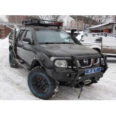 Багажник экспедиционный алюминиевый KDT для пикапов