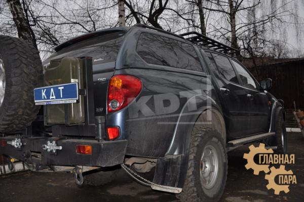 Багажник-площадка экспедиционный KDT