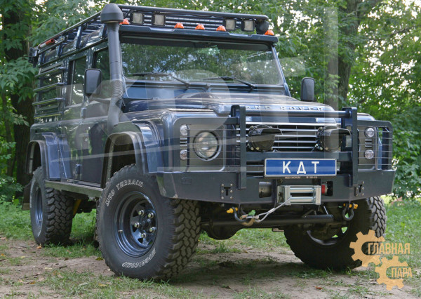 Багажник-площадка экспедиционный KDT для Land Rover Defender 110