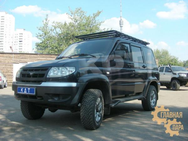 Багажник-площадка экспедиционный KDT для УАЗ Патриот
