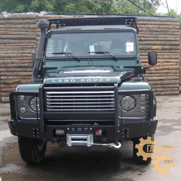 Багажник-площадка экспедиционный алюминиевый KDT для Land Rover Defender 90
