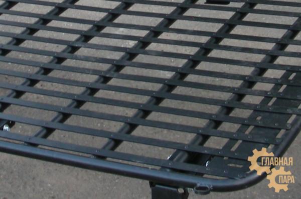 Багажник-площадка экспедиционный алюминиевый KDT для Nissan Patrol