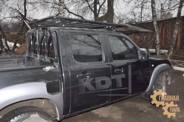 Багажник-площадка экспедиционный KDT для пикапов