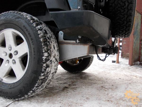 Бак топливный дополнительный (без установочного комплекта) для Jeep Wrangler