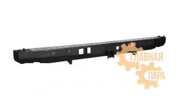 Задний силовой бампер OJ 03.108.01 для УАЗ Буханка с квадратом под фаркоп