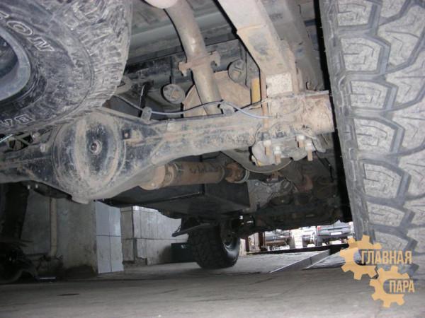 Бак топливный основной увеличенной ёмкости для Toyota HILUX