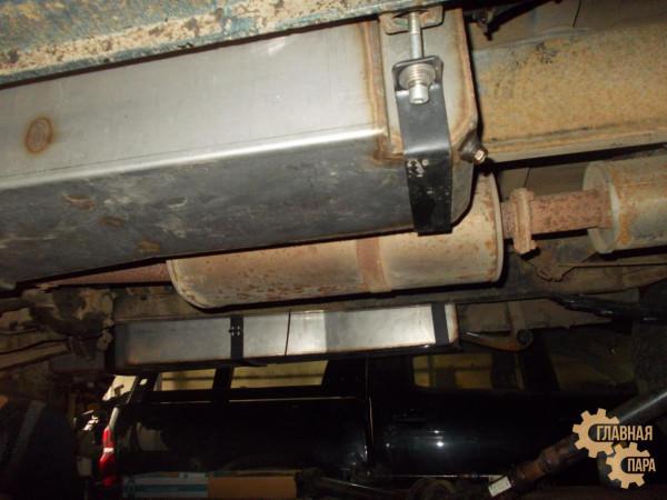 Бак топливный основной увеличенной ёмкости правый для УАЗ Патриот