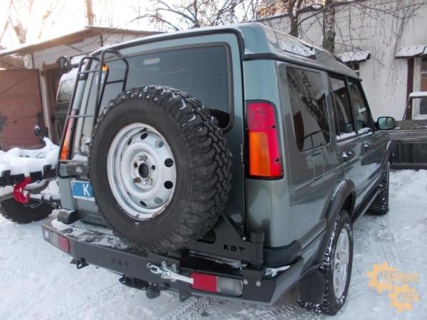 Задний силовой бампер KDT для Land Rover Discovery 2