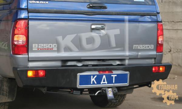 Задний силовой бампер KDT для Mazda BT50 / B2500 под лебедку