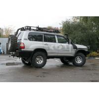 Задний силовой бампер KDT для Toyota Land Cruiser 105
