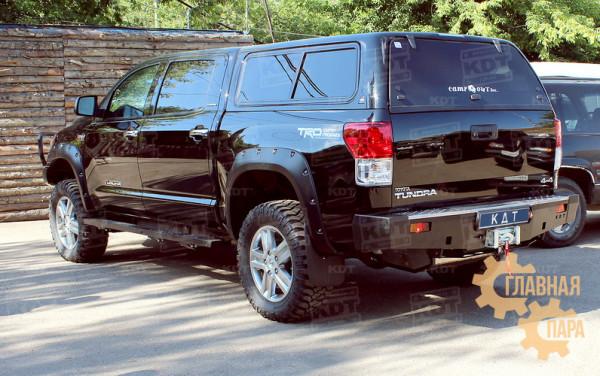 Задний силовой бампер KDT для Toyota Tundra под лебедку