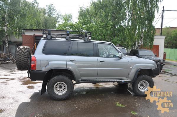 Задний силовой бампер II поколения KDT для Nissan Patrol Y61