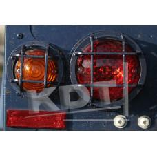 Защита задней оптики KDT для Land Rover Defender 90/110