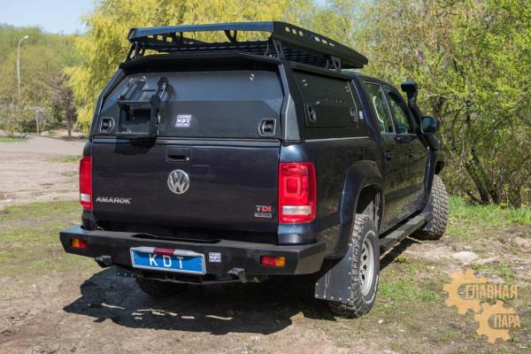 Багажник алюминиевый KDT для кунга