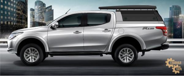 Багажник алюминиевый KDT короткий для кунга