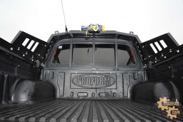 Дуга безопасности многофункциональная KDT для Mazda BT-50 / Ford Ranger