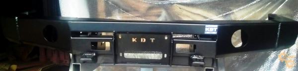 Алюминиевый передний силовой бампер KDT