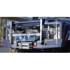 Защита передней оптики KDT для бампера Land Rover Defender 90/110