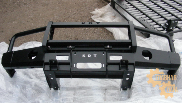 Алюминиевый передний силовой бампер KDT для Land Rover Discovery