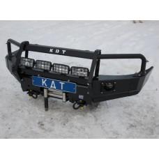 Алюминиевый передний силовой бампер KDT для Mazda BT-50, Ford Ranger до 2012