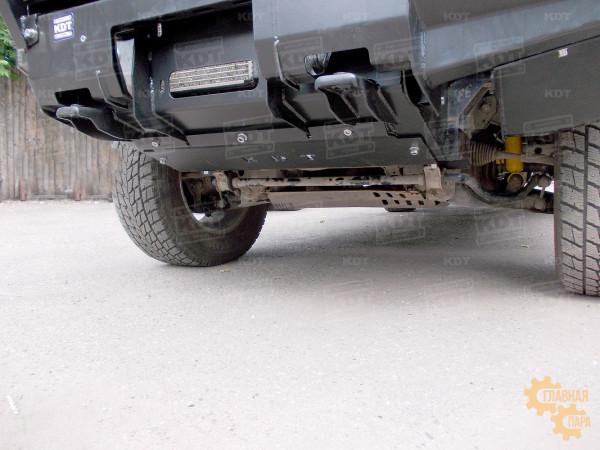 Алюминиевый передний силовой бампер KDT для Mitsubishi L200 2005-2015