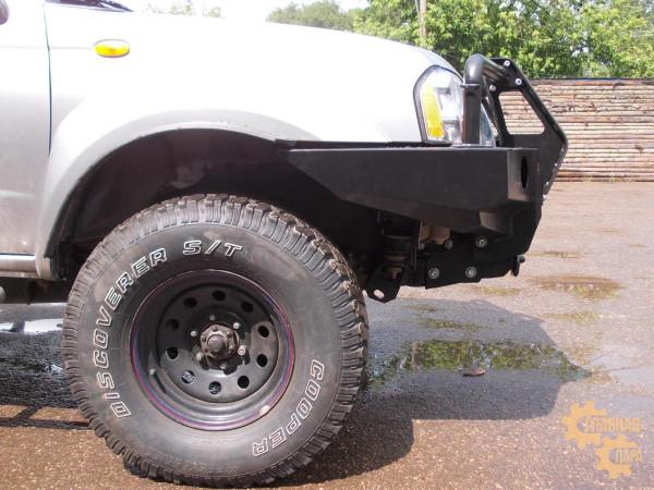 Алюминиевый передний силовой бампер KDT для Nissan NP-300